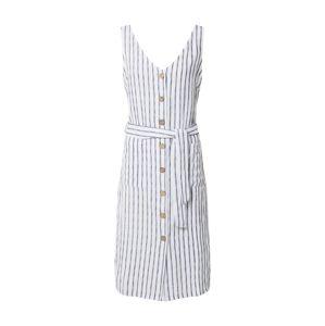 ZABAIONE Letné šaty 'Sara'  tmavomodrá / biela
