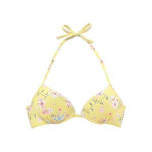 SUNSEEKER Bikinový top 'Ditsy'  zmiešané farby / žlté