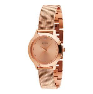 GUESS Analógové hodinky  ružové zlato