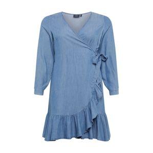 Zizzi Šaty  modrá denim