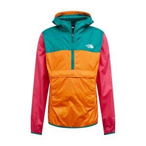 THE NORTH FACE Prechodná bunda  oranžová / ružová / zelená