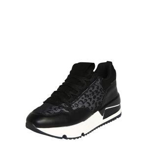 BULLBOXER Nízke tenisky  biela / čierna