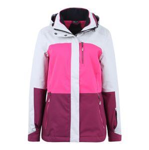 KILLTEC Outdoorová bunda 'Sewia'  ružová / malinová