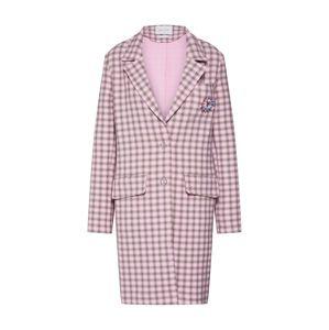 Rich & Royal Prechodný kabát  ružová