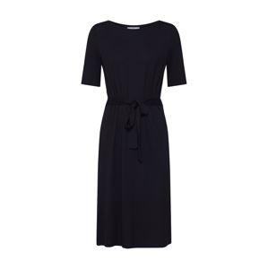 EDC BY ESPRIT Puzdrové šaty  čierna