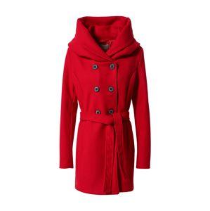 Amber & June Prechodný kabát  červená