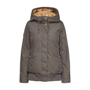 Mazine Zimná bunda  sivá