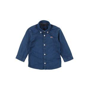 TOMMY HILFIGER Košeľa  modrá denim