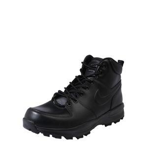 Nike Sportswear Šnurovacie čižmy 'Manoa'  čierna