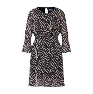 Carolina Cavour Šaty  zmiešané farby / čierna