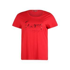 Z-One Tričko 'Summer Z1'  červené