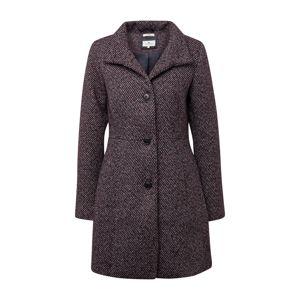 TOM TAILOR Prechodný kabát  zmiešané farby / modrá / tmavočervená