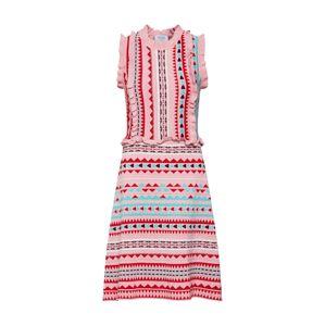 Carolina Cavour Letné šaty  zmiešané farby / ružová