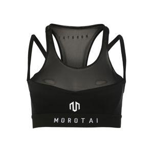 MOROTAI Športová podprsenka 'NAKA Performance'  čierna / biela