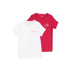 Calvin Klein Underwear Nočná košieľka  biela / ružová