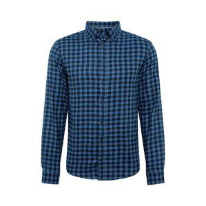 BLEND Košeľa  tmavomodrá / modrá