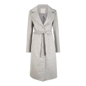 Pieces (Tall) Prechodný kabát  svetlosivá