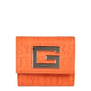 GUESS Peňaženka  oranžová