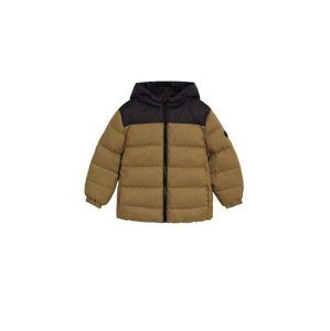 MANGO KIDS Zimná bunda  hnedá