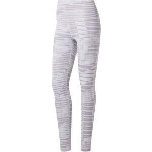 REEBOK Športové nohavice 'Yoga'  svetlosivá / sivá