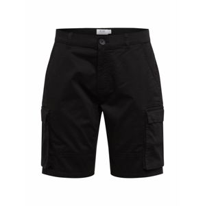 Only & Sons Shorts 'ONSCAM STAGE CARGO SHORTS PG 6689'  čierna