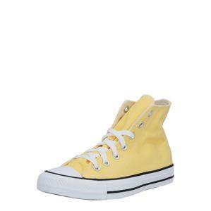 CONVERSE Členkové tenisky 'Chuck Taylor All Star'  biela / žltá / čierna