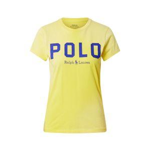 POLO RALPH LAUREN Tričko  žltá / tmavomodrá