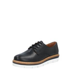 Bianco Šnurovacie topánky  čierna / béžová / biela