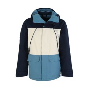 BURTON Outdoorová bunda 'Breach'  svetlomodrá / tmavomodrá / biela