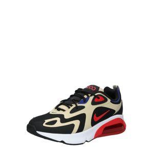 Nike Sportswear Nízke tenisky 'AIR MAX 200'  červená / čierna / zlatá