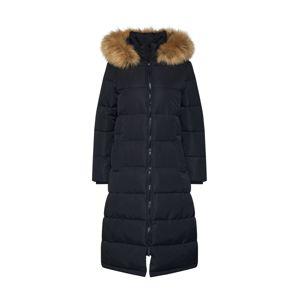 Superdry Zimný kabát  čierna