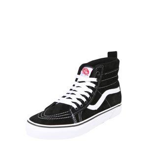 VANS Členkové tenisky 'Sk8-Hi Mte'  čierna / biela