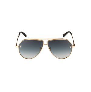 Stella McCartney Slnečné okuliare 'SC0063S 60'  sivá / zlatá