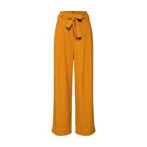 SECOND FEMALE Plisované nohavice 'Yasemin'  žlté
