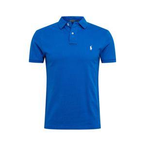 POLO RALPH LAUREN Tričko  kráľovská modrá / biela