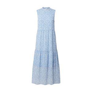 VERO MODA Letné šaty  béžová / modrá