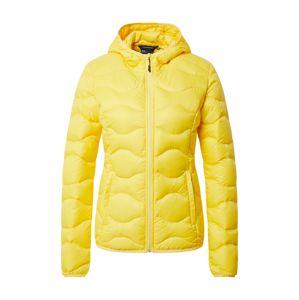 ICEPEAK Športová bunda 'AYNOR'  žltá