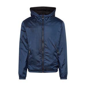 GUESS Zimná bunda '4G REVERSIBLE JKT'  modré / čierna