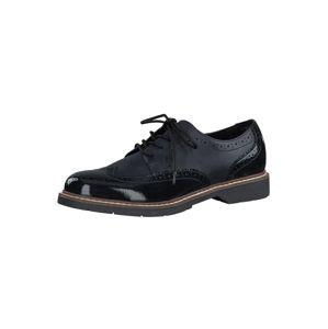 s.Oliver Šnurovacie topánky  námornícka modrá