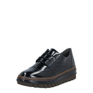 TAMARIS Šnurovacie topánky  námornícka modrá