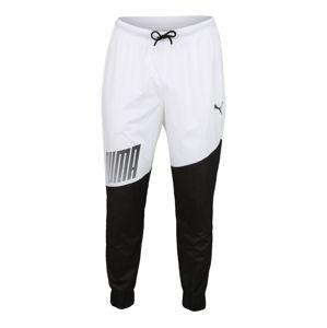 PUMA Športové nohavice 'A.C.E. Trackster'  čierna / biela