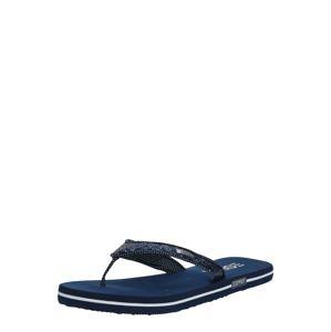 ESPRIT Žabky 'Glitter Thongs'  námornícka modrá
