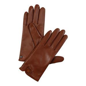 ROECKL Prstové rukavice 'Tiny Belt'  hnedá