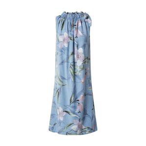 ZABAIONE Šaty 'Dilari'  svetlomodrá / zmiešané farby