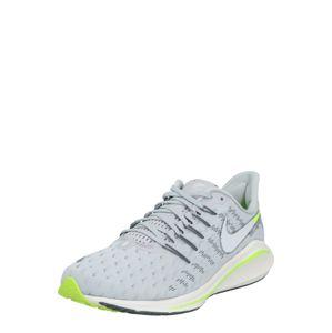 NIKE Športová obuv 'Air Zoom Vomero 14'  neónovo zelená / sivá