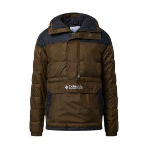 COLUMBIA Zimná bunda  čierna / kaki