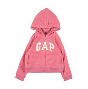 GAP Flisová bunda  rosé / púdrová