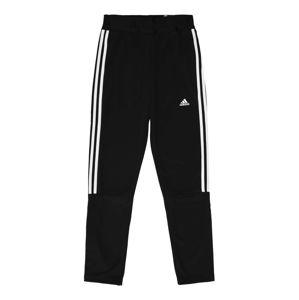 ADIDAS PERFORMANCE Športové nohavice 'TIRO'  čierna / biela