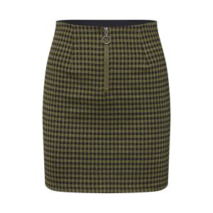 Noisy may Sukňa 'BOSS MINI SKIRT 6'  zelená