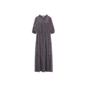 MANGO Plážové šaty 'Pia'  čierna